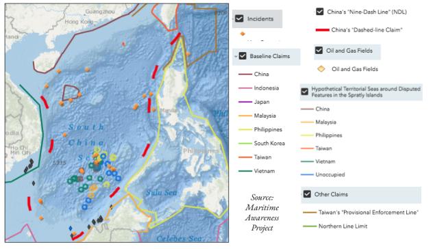 South China Sea 2019